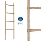 OM Деревянная декоративная лестница model D102 от Studio 36