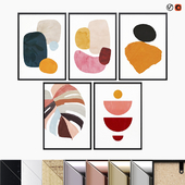Abstract Posters Set 01