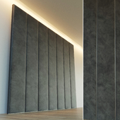 Декоративная стена. Мягкая панель. 9