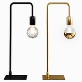 CB2 arc table lamp