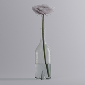 Vase with a flower