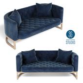 OM Double sofa model S30103 from Studio 36
