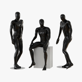 Black male mannequins 04