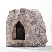 Stone decorative slab