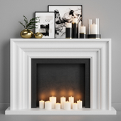 Decorative fireplace 9