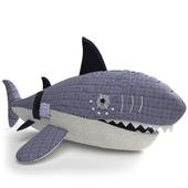Pottery Barn Kids Nautical Shark Plush