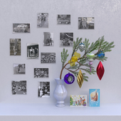 USSR Christmas decorations