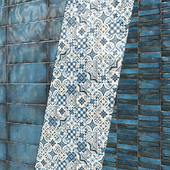 Tile Cifre Montblanc Blue.