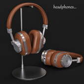 Headphones Master & Dynamic MW60S2 Brown / Silver