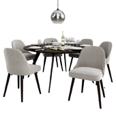 West Elm Dinning Set 2