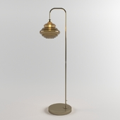 Obvious Floor Lamp Antique Brass