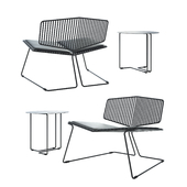 spHaus Vader chair and Ferro 3 table
