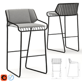 Cage barstool product sheet