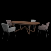 table + chair, Rolf Benz 988_655