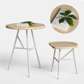 Puccio table&stool