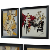 Collection of paintings by Zabel's and Bond Girl Giclee 2