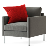 Crate and Barrel / Studio Series Customizable Chair