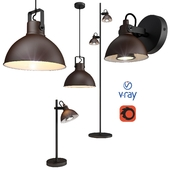 DAMIAN, pendant, table, floor and wall lamps from the company LUCIDE, Belgium.
