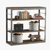 FRENCH LIBRARY LOW SHELVING