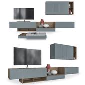 Furniture in the living room Dandy Living series Ikona, SANTALUCIA MOBILI