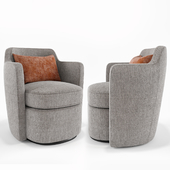 Adeline Swivel Chair_West elm