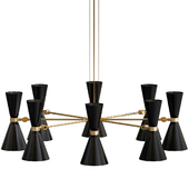 Cairo Eight-Arm Contemporary Chandelier