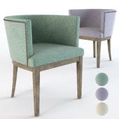 Petite Studded Club Chair