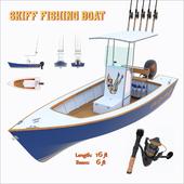 Skiff fishing boat