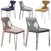 Riflessi Piuma chair