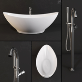 Bathtub PAA - Felice and Faucet Fantini - Nostromo