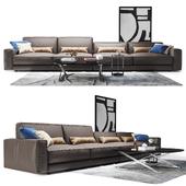 Sofa triple Ditre Italia Buble Blob
