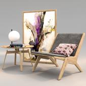 Skagerak Chair Set