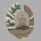 Coat of arms of the Republic of Tajikistan