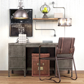 Restoration hardware cabinet decor set_vol6