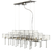 Spillray 26 Chandelier by Axo Light