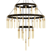 Axis 3-Tier Chandelier 60 - Restoration Hardware
