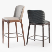 Cattelan italia magda couture stool set2