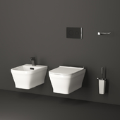 Toilet and bidet Noken Forma