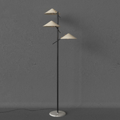 Stilnovo Floor Lamp Triple Shades