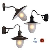 ARUBA, наружное освещение, настенные светильники от компании LUCIDE, Бельгия.