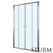 Shower door to STURM Entrada niche