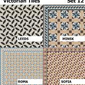 Topcer Victorian Tiles Set 12