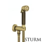 Hygienic shower STURM Lilie, color bronze