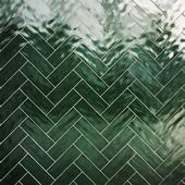 Green botle tiles