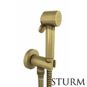 Hygienic shower STURM Traum, color bronze