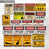 Metal Signs 28