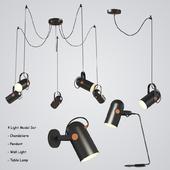Four Light Set 1