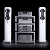 Hi-fi kit NAD and Q acoustics