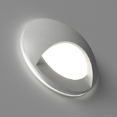 LED recessed white wall luminaire for lighting the steps of the stairs integrator IT-007 AURA