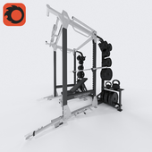 Hammer Strength Full Rack